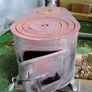 各種煙突と薪ストーブ(ジャンク品)