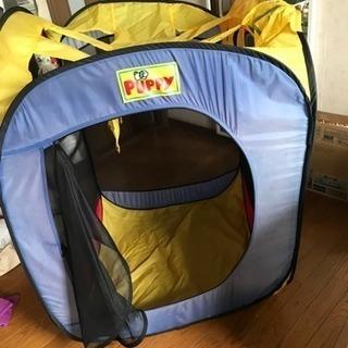 子供用テント無料で