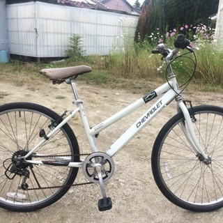 クロスバイク(26インチ、シボレー)