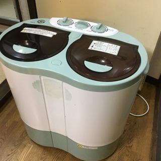 ALUMIS アルミス 2槽式小型自動洗濯機