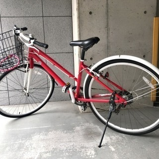 FIATの街乗り自転車(6段変速)