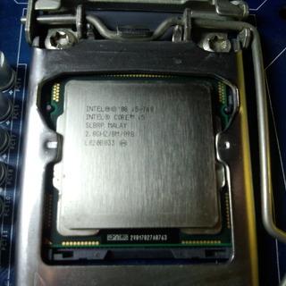 CPU Intel Core i5 760 中古 バルク