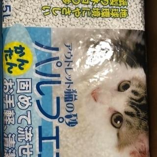 紙製猫砂【新品】