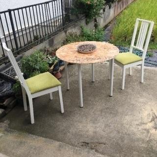 IKEAの椅子 【BBQテーブル】