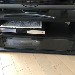 テレビボード  黒