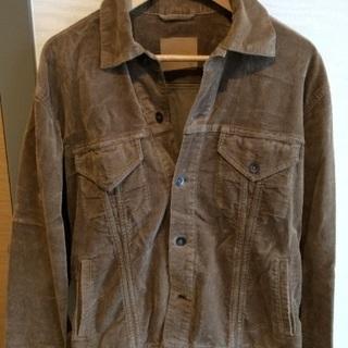 キャラメル色のジャケット