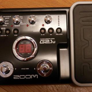 ZOOM製 エフェクターG2.1u
