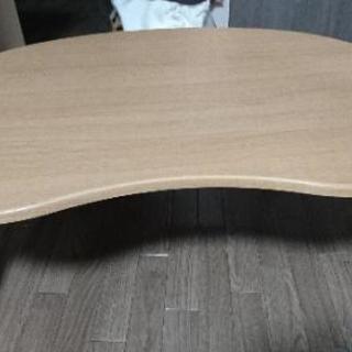 ローテーブル  木目調