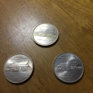 御在位六十年記念五百円硬貨