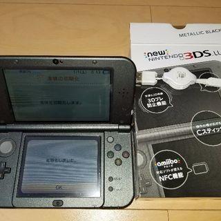 本日限定!3DS LL NEW メタリックブラック