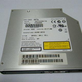 ノートパソコン用DVDドライブ TEAC DV-28S