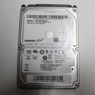 SAMSUNG HDD ST500LM012 500GB ノート用...
