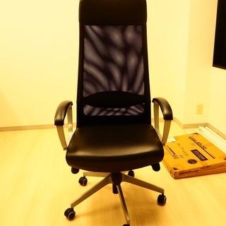 【値下げしました】IKEA/イケアの回転チェアを格安でお譲りします