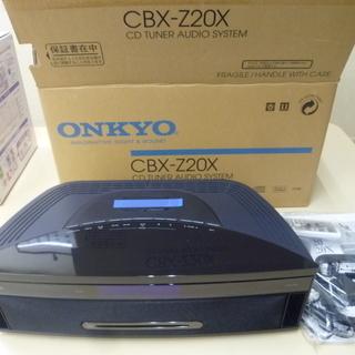 未使用 ONKYO CBX-Z20X Dock搭載CDチューナーア...