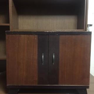 【9/24限定】希少【レトロ】レコードサイズ適応収納家具