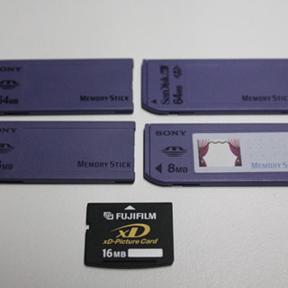 xDピクチャーカード 16MB FUJIFILM/SONY MEM...