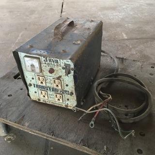 F-up AUTOトランス ポータブル変圧器 K-312 単巻変圧器