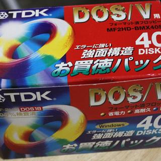 TDK FD MF2HD-BMX40S DOS18 39枚入り フ...