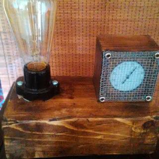 エジソンランプ テーブルライト 照明  インテリア照明 アンティーク