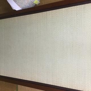 畳のベッド 木製フレーム キャスター付き