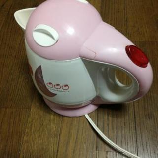 電気ポット ケトル 湯沸し キティ