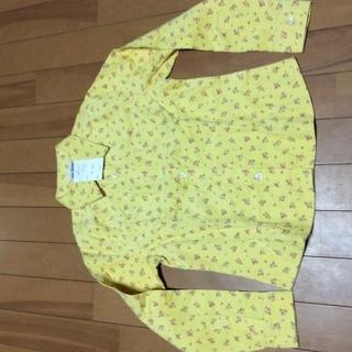 小さめ140新品コーデュロイシャツ