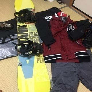 スノーボード 板 ウェア