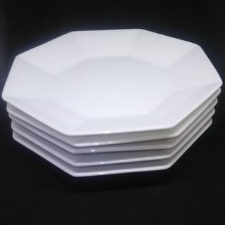 八角形皿 5個 中古