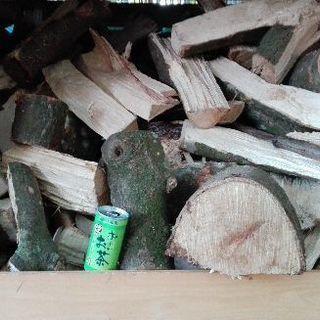 広葉樹カシの火持ち良好コロコロ薪!1年 10ヶ月乾燥(含水率17...