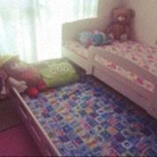 スライド式 二段ベッド