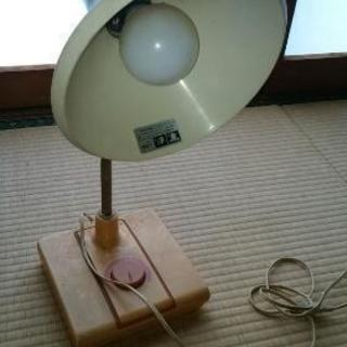 白熱灯スタンド
