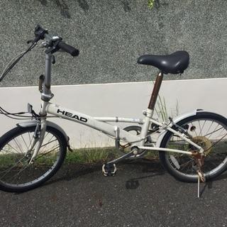 HEAD 折りたたみ自転車