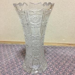 ボヘミアングラス 花瓶3個セット