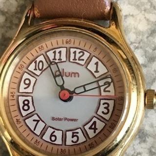 中 11.B plum レディースウォッチ 腕時計