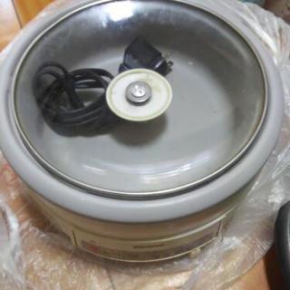 1人鍋に電気鍋、取りに来られる方に