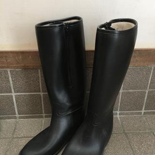値下げしました!COMME CA ISMの長靴 23.5センチ