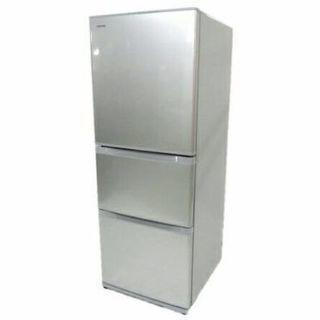 2016年式大型TOSHIBA340リットルノンフロン冷凍冷蔵庫で...