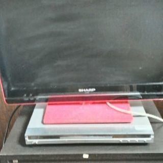 シャープ液晶テレビ19インチ