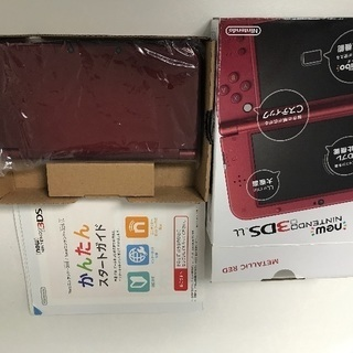 【交渉中】3DS.  LL.  メタリックレッド