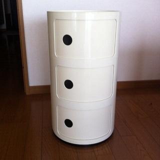 カルテルコンポニビリ【正規品】3段オフホワイト