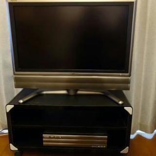32型液晶テレビ SHARP AQUOS テレビ台付き LC-32GD1