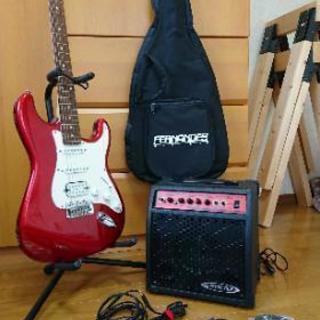 fernandes 初心者用エレキギターセット