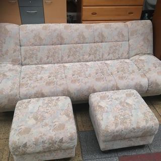 ソファ ソファベッド 3人掛け 幅190 美品