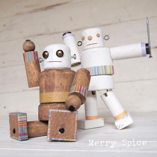 【作って遊ぼう!】木のロボットづくり