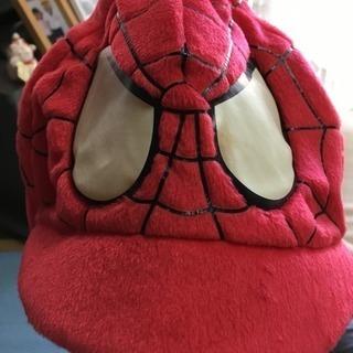 スパイダーマンのキャップ