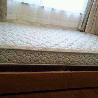 収納付きシングルベッド(フランスベッド)