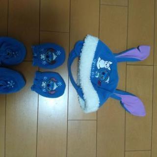 スティッチ☆帽子・手袋・靴下?