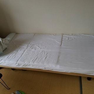 シングルベッド♪  マットレス付き