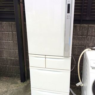 大分県 東芝 冷蔵庫 GR-B37GL 2009年製 左開き 365L