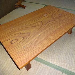 座卓 木製、折りたたみ可能、多少傷・汚れあり、3卓1セット